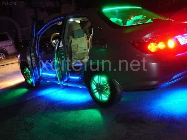 ... auto led strip lighting blue+ 24cm waterproof auto led strip lighting