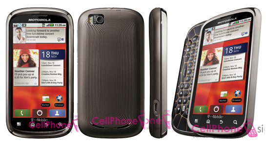 Motorola Cliq 2 Smartphone with Sliding Keyboard ...