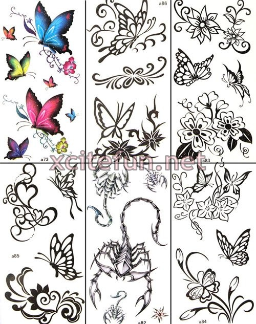 Temporary tattoo Waterproof body