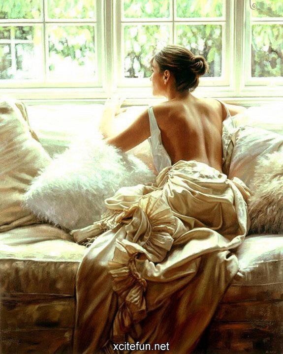 Essence of Women - Realistic Paintings : Art, Design: forum.xcitefun.net/essence-of-women-realistic-paintings-t56628.html