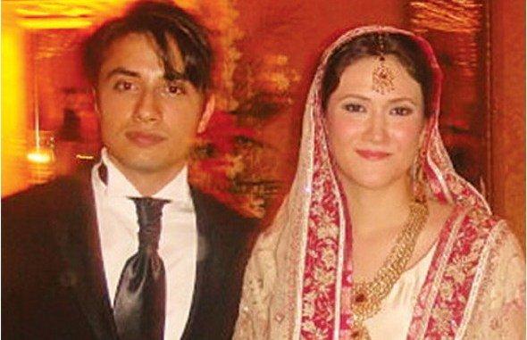 Ali Zafar Wife
