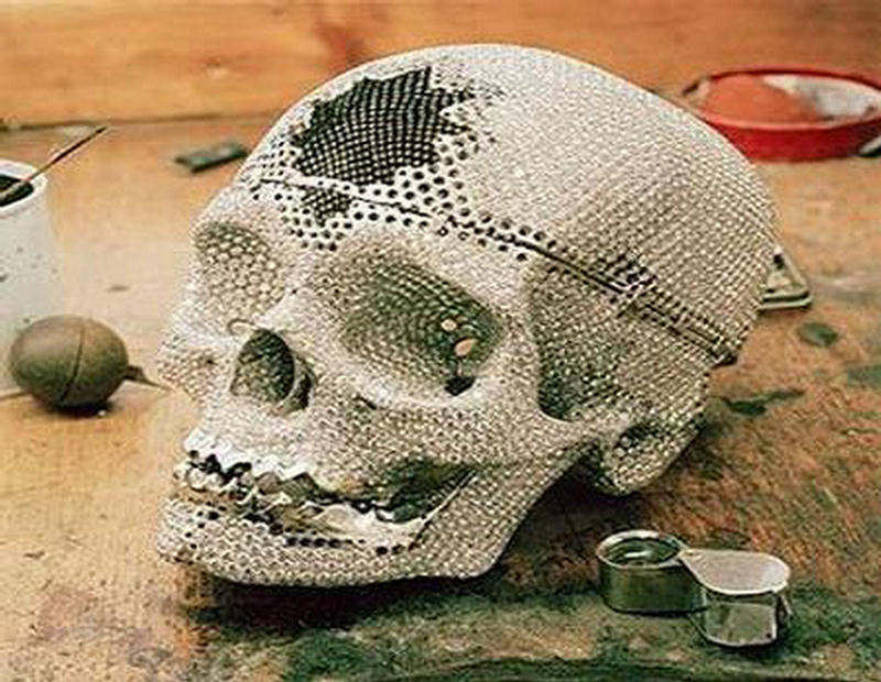 Unusual Diamond Skull By Damien Hirst Xcitefun Net