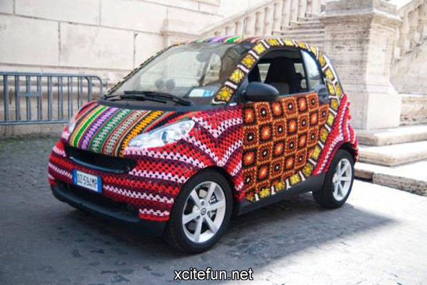 Crochet Cars - The Knitted Vehicles - XciteFun.net