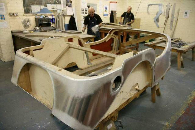 Morgan Cars Are Made With Wood