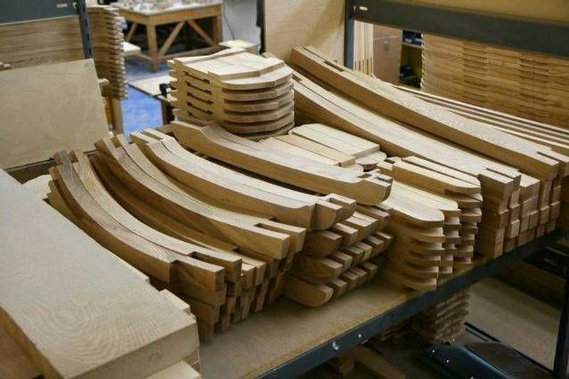 Эксклюзивные авто, собираемые вручную из дерева и стали (23 фото) .