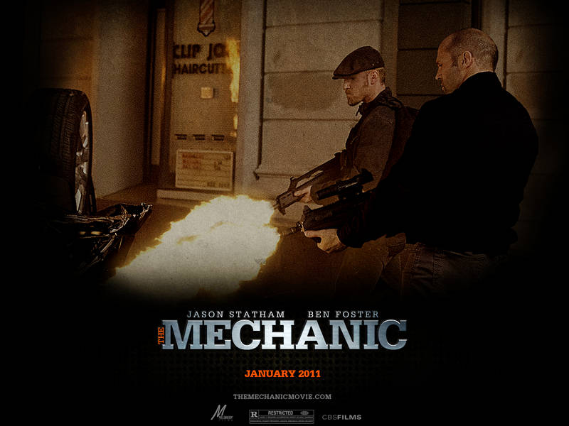 jason statham wallpaper. The Mechanic Wallpapers The
