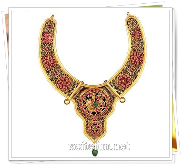 Polki jewelry designs | Indian polki necklaces | Kundan Necklaces