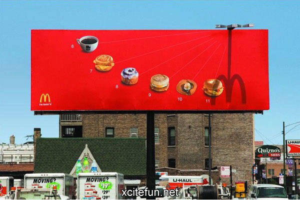 Creative billboard designs for Advertising agency uk