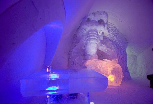 Cartoon Themed Ice Hotel In Finland
