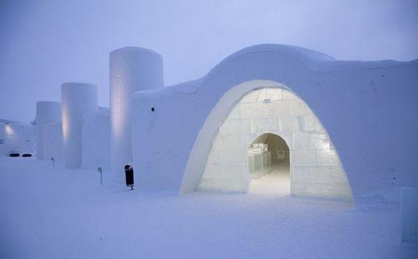 Cartoon Themed Ice Hotel In Finland Xcitefun Net