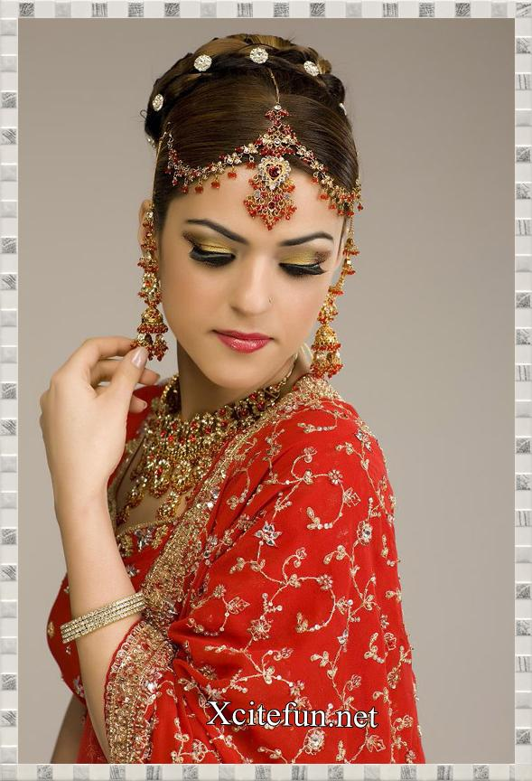 Indian Bridal Jewelry and Makeup - XciteFun.net