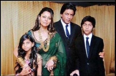 shahrukh khan family shahrukh khan family shah rukh khan with gauri
