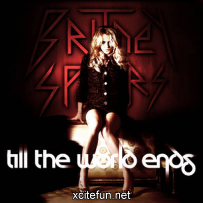 britney spears till the world ends artwork. Britney Spears Till The World