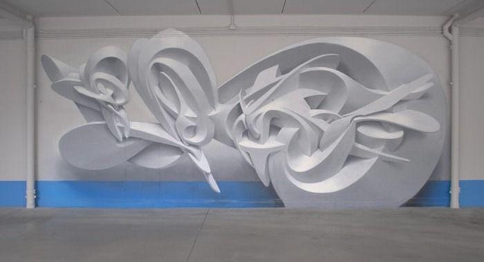 White Dimensional Wall Decor : Three dimensional wall art xcitefun