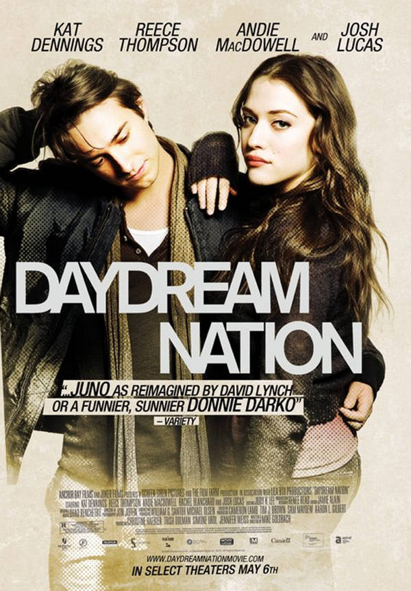 Daydream Nation Romantic Movie Poster - XciteFun.net