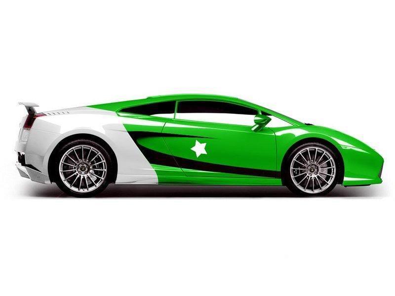 Lamborghini Pakistan Green Car Xcitefun Net