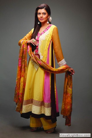 Nida Yasir Star Pearl Lawn Collection 2011