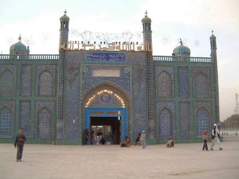 Blue Mosque of Mazar Sharif Afghanistan