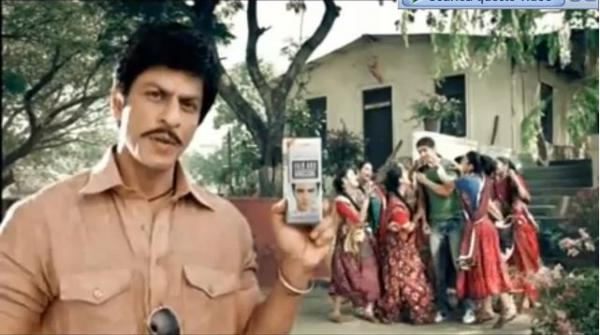 Shahrukh Khan Fair and Handsome Ad