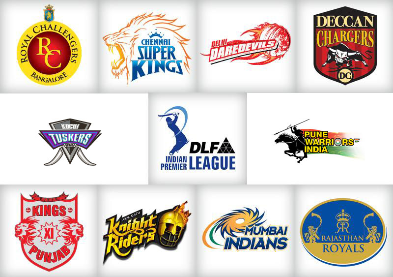 This time dlf ipl season 4 have 10 teams which are royal challengers