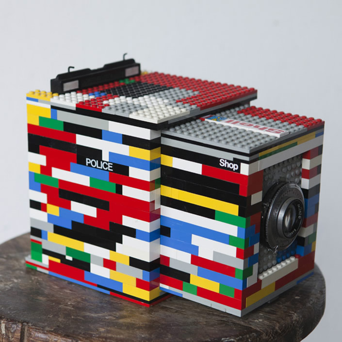 LEGO bricks Camera Art