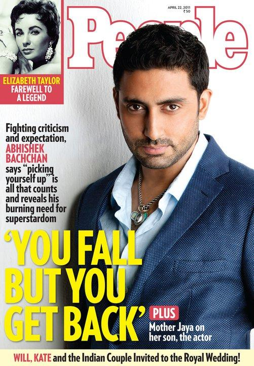 abhishek bachchan people magazine : indian celebrities