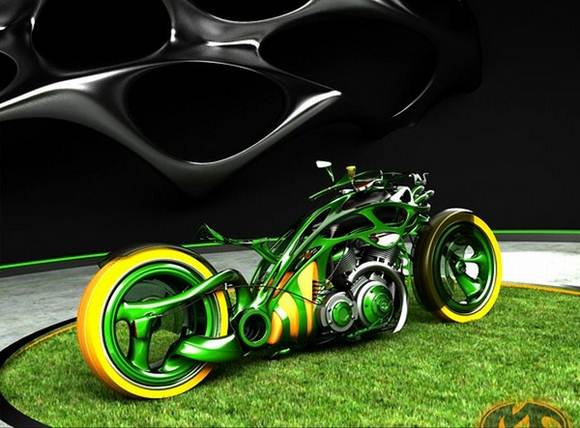 Amazing Chopper Concepts Bikes