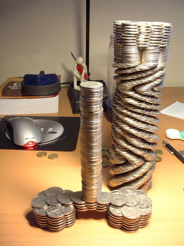 Can You Build This With Coins
