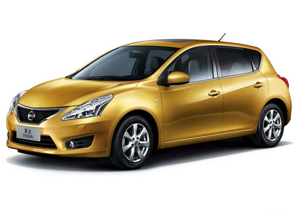 nissan tiida is the best selling model in the current nissan product