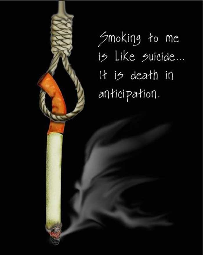quit smoking or else