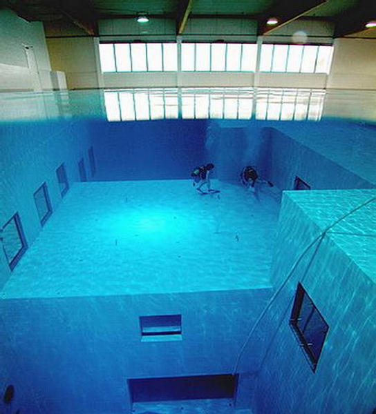 Deepest Swimming Pool In The World Belgium
