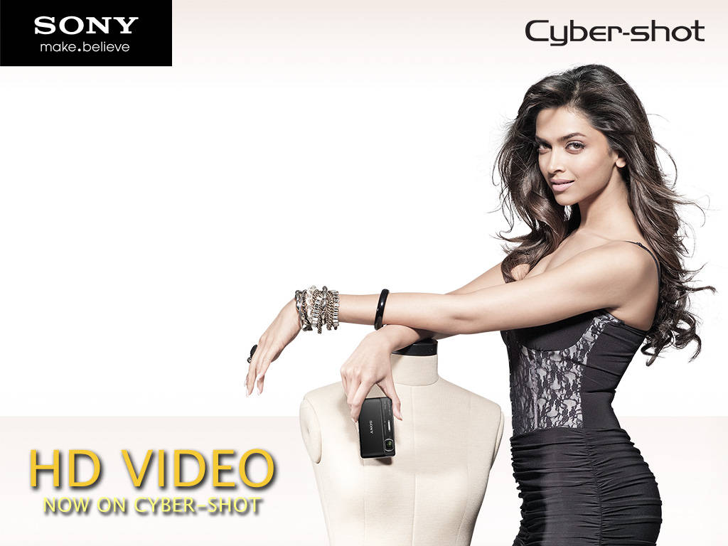 Deepika Padukone Sony Cybershots Wallpapers
