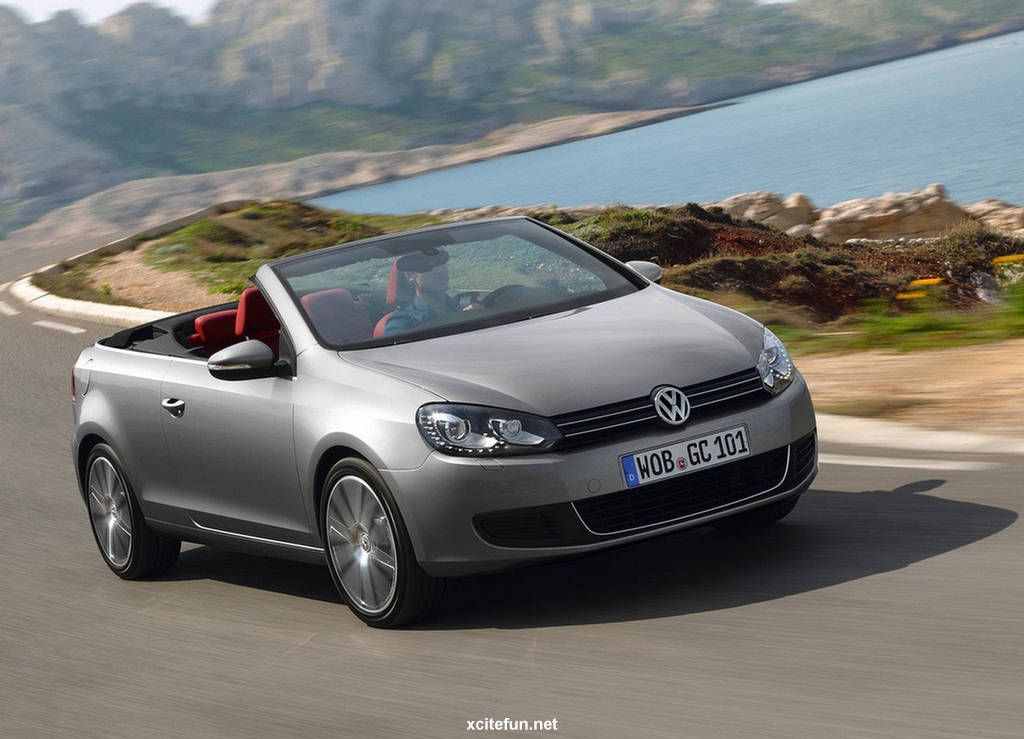 volkswagen golf cabriolet car wallpapers 2012. Black Bedroom Furniture Sets. Home Design Ideas