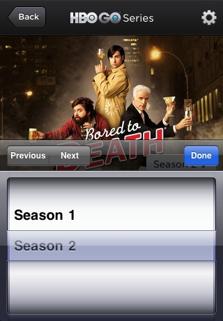 HBO GO Software For iPhone