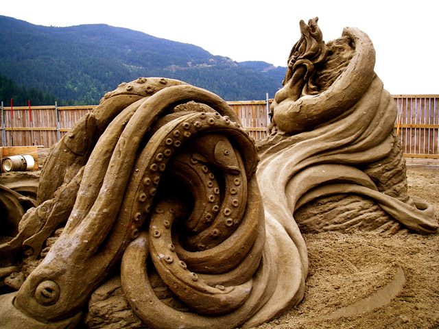 Extreme Sand Sculpting