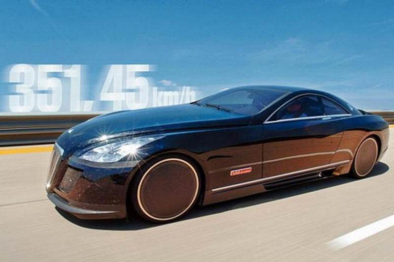 maybach exelero a high performance sports car. Black Bedroom Furniture Sets. Home Design Ideas