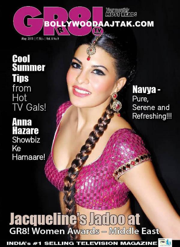 Jacqueline Fernandes GR8 Magazine