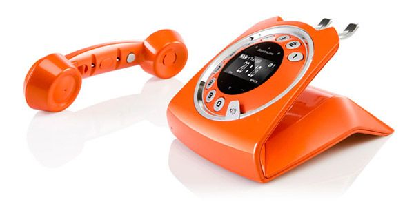 Vintage landline phone sixty sagemcom cordless - Designer cordless home phones ...