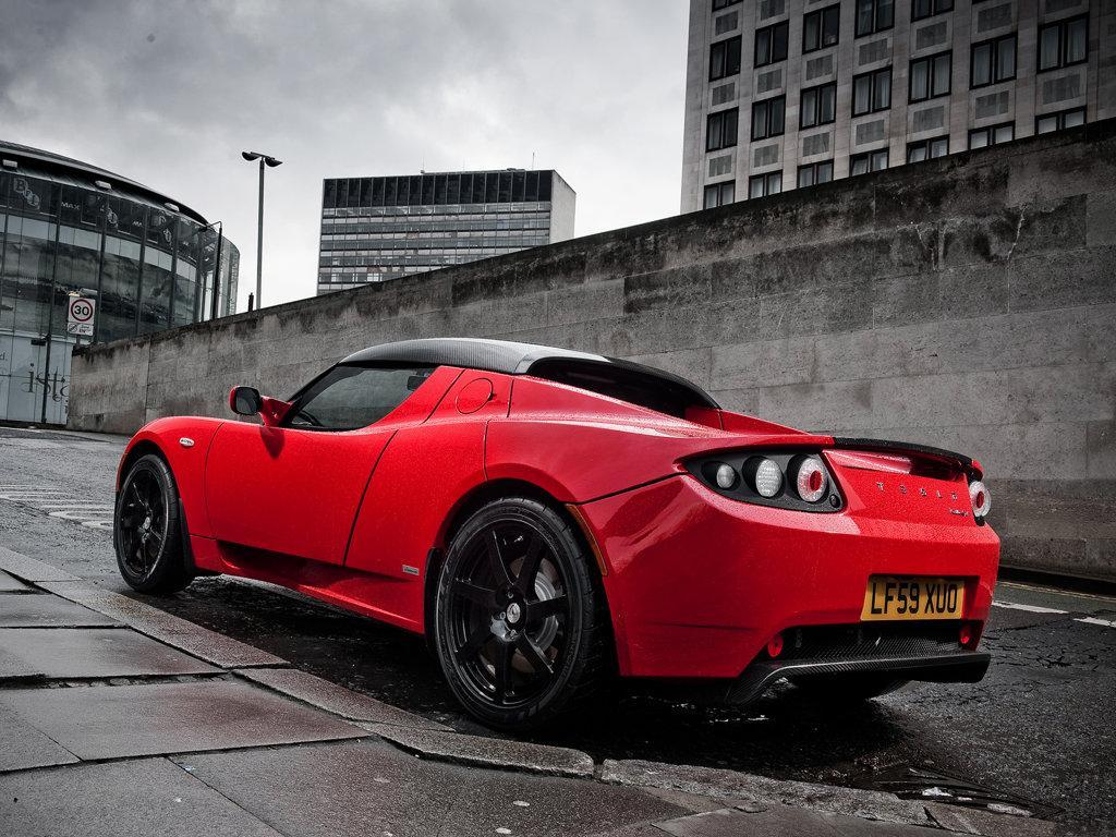 Tesla Roadster Super Electric Sports Car