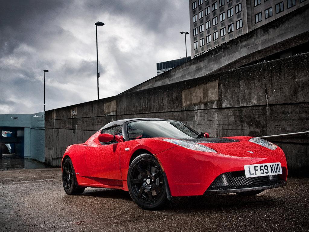Ford Electric Car >> Tesla Roadster-Super Electric Sports Car... - XciteFun.net