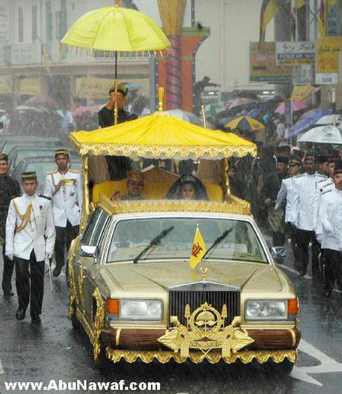 Real And Fun Sultan Hassanal Bolkiah President Of The Richest - Worlds poorest man