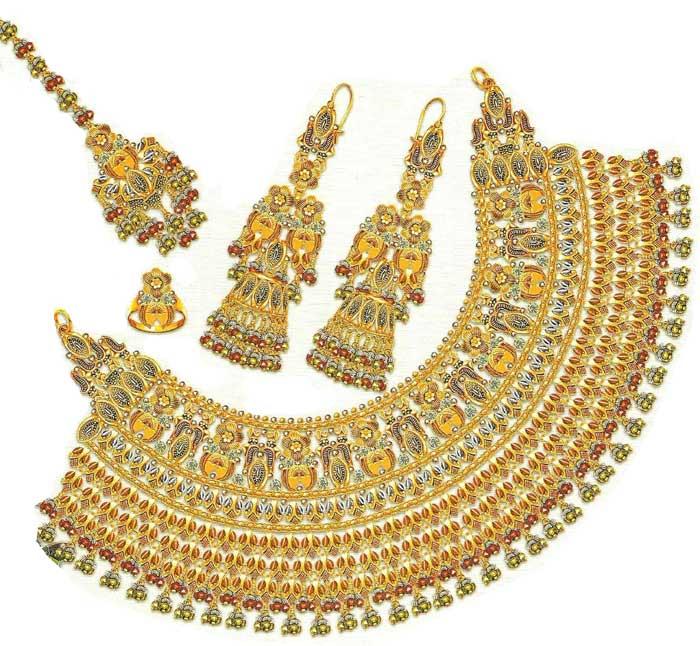 Distroingangel Latest Gold Jewellery Designs
