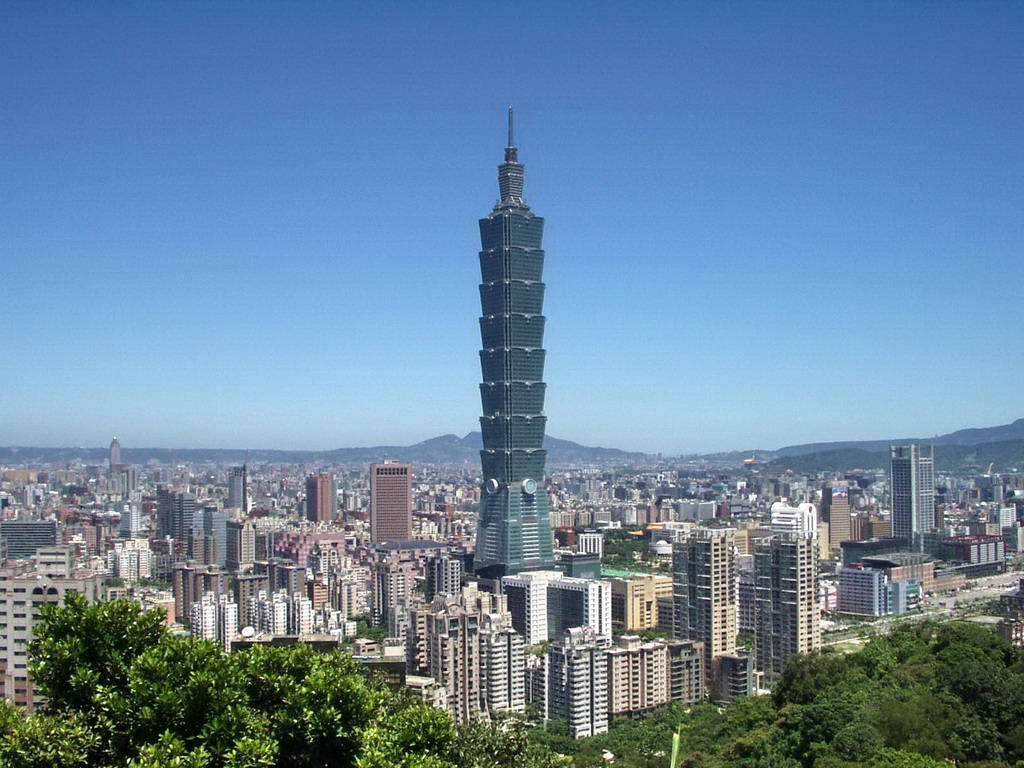 taipei 101 taiwan world second tallest building