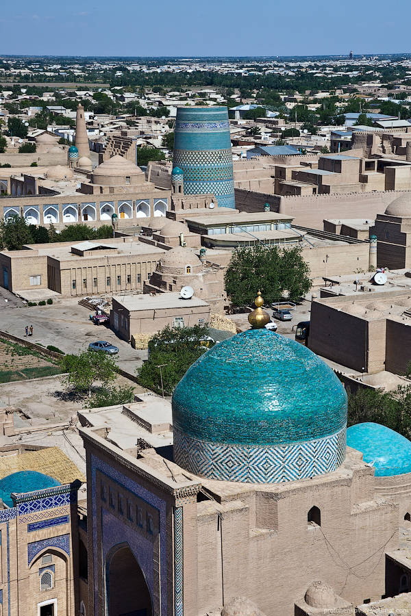 Khiva  An Ancient City Of Uzbekistan