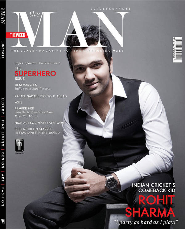 Rohit Sharma Magazine Cover