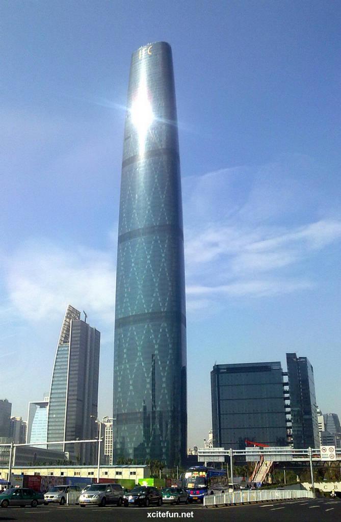 Guangzhou International Finance Center China Images