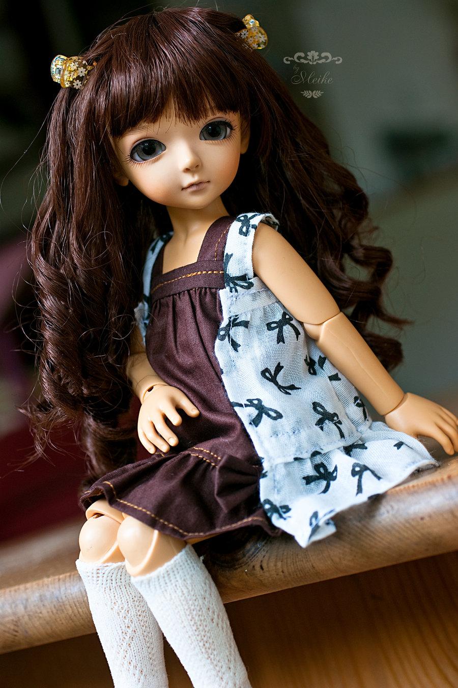 Cute curly hairs joint dolls - Pics cute dolls ...