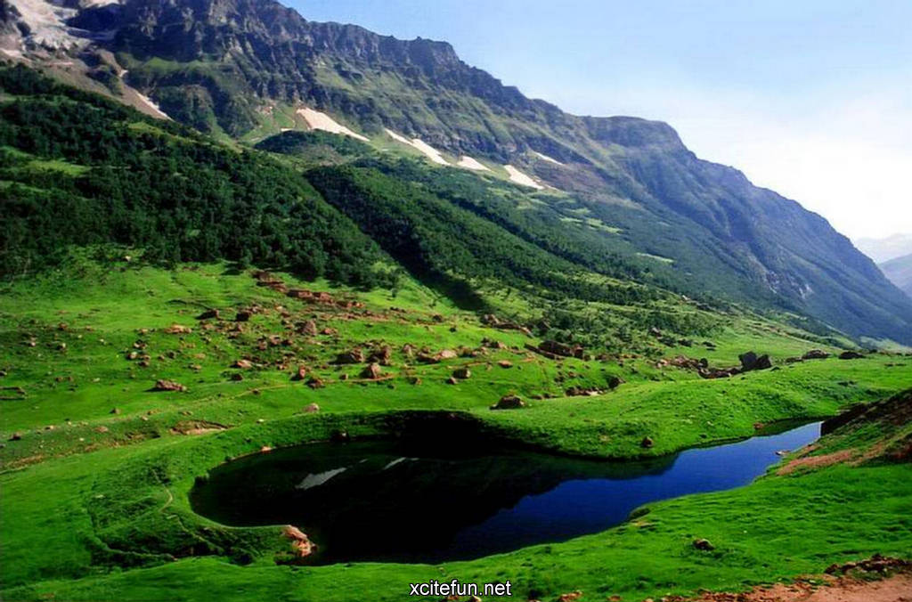 Photography Of Lakes Valleys Hills In Pakistan