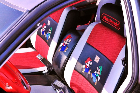 nintendo super mario car. Black Bedroom Furniture Sets. Home Design Ideas