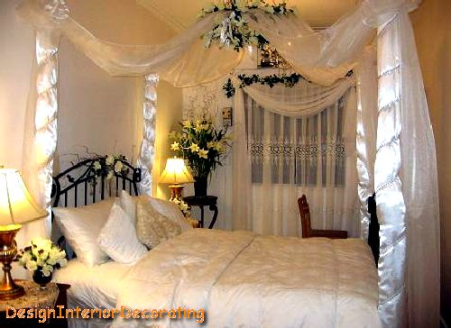 Romantic beds enjoy your wedding night for Asian wedding bed decoration ideas